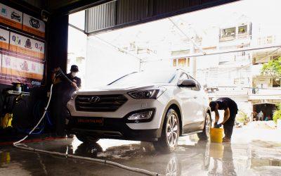 Quy trình rửa xe ô tô 3 xô chuyên nghiệp
