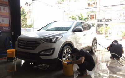 4 sai lầm cơ bản khi rửa xe ô tô