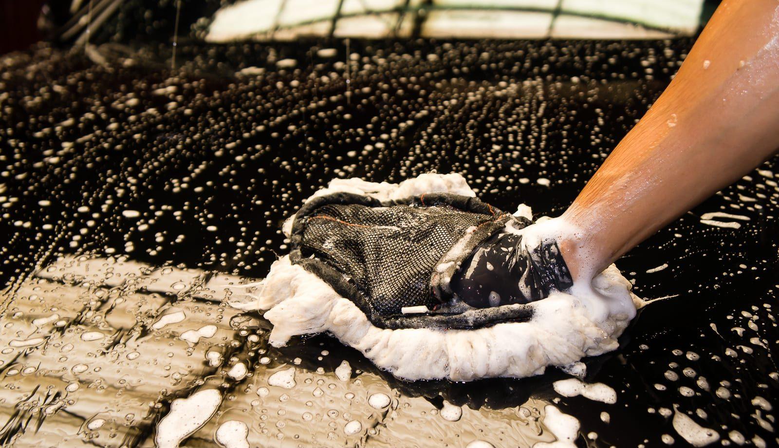 Khăn rửa xe microfiber