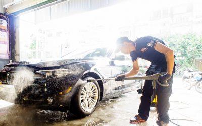 4 vị trí cần lưu ý khi rửa xe ô tô