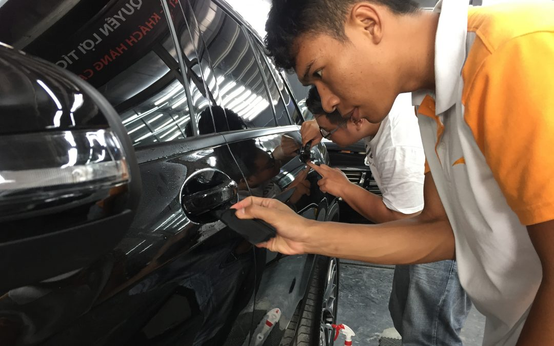 Thị trường Việt và dịch vụ dán phim bảo vệ sơn PPF
