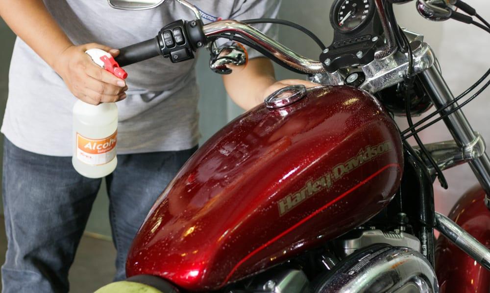 Chống trầy xe moto
