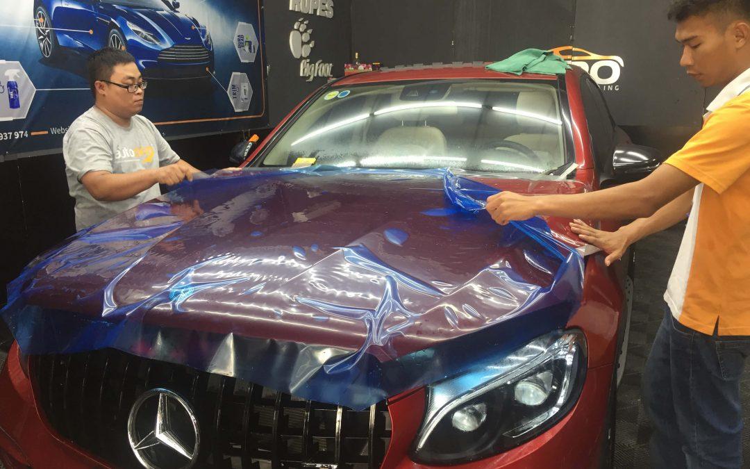 chống trầy xước xe ô tô