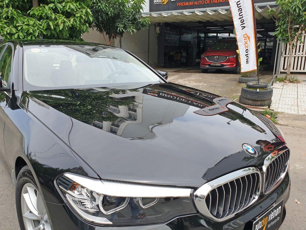BMW 5 Series dán PPF bảo vệ toàn xe