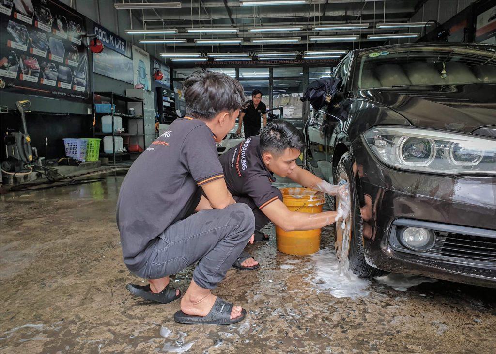 đào tạo nghề chăm sóc xe ô tô tại Bro Detailing