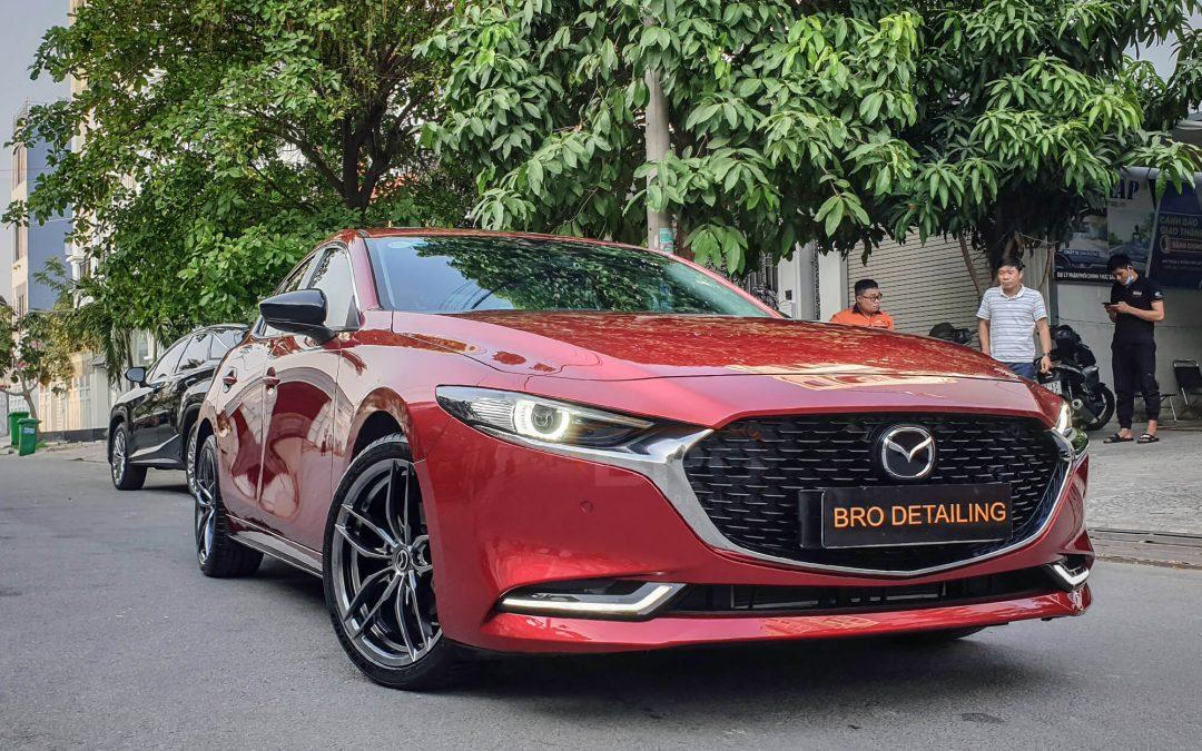 Phủ ceramic Mazda 3 2021 tại quận 7 TPHCM