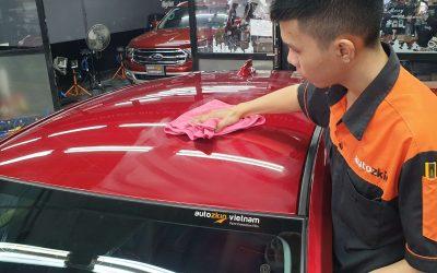 Chăm sóc xe thế nào sau khi dán phim bảo vệ sơn ô tô?