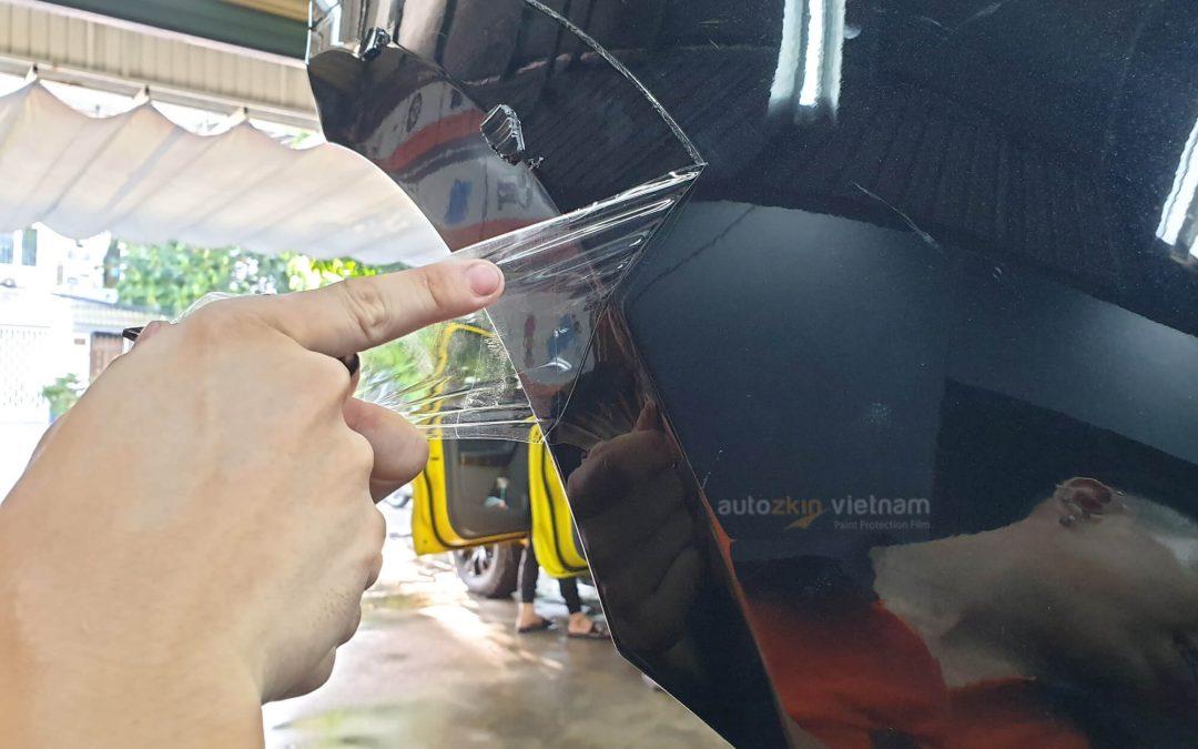 Lột phim PPF ô tô có làm bong tróc sơn xe không?