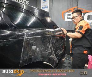dán ppf bảo vệ sơn xe range rover