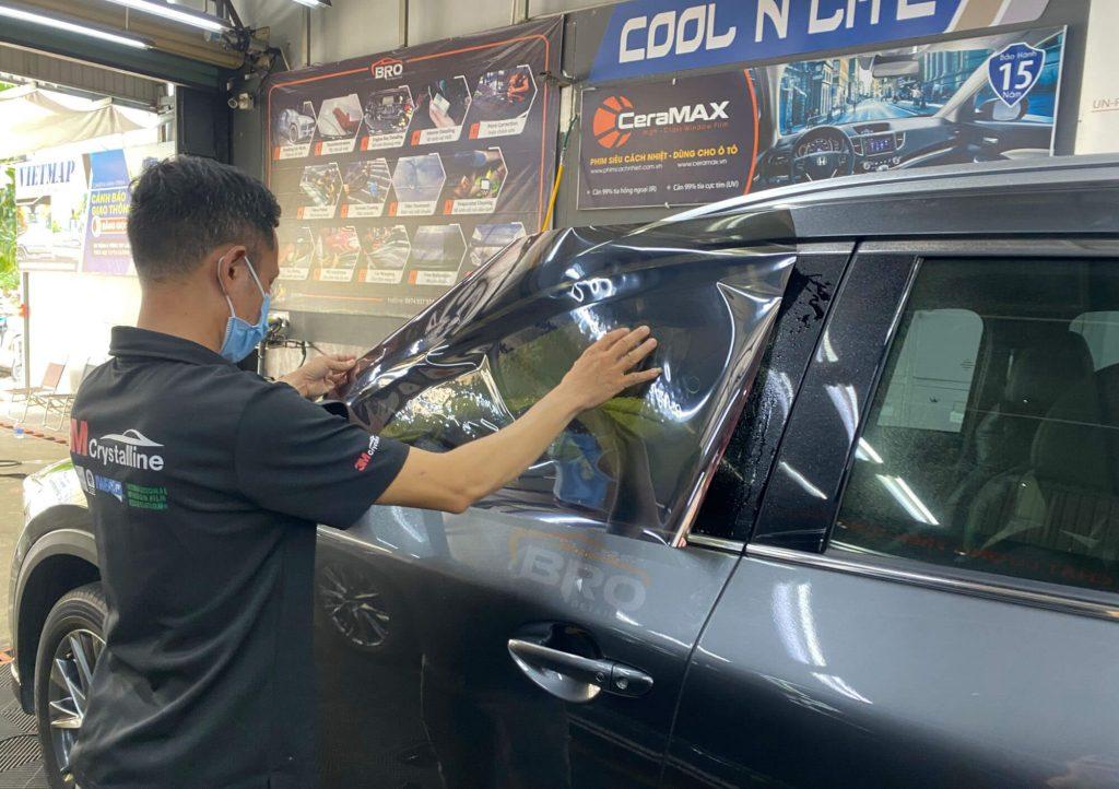 Dán phim cách nhiệt 3M Mazda CX8