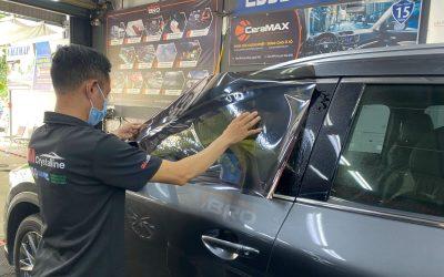 Dán phim cách nhiệt 3M Mazda CX8 tại quận 7 TPHCM