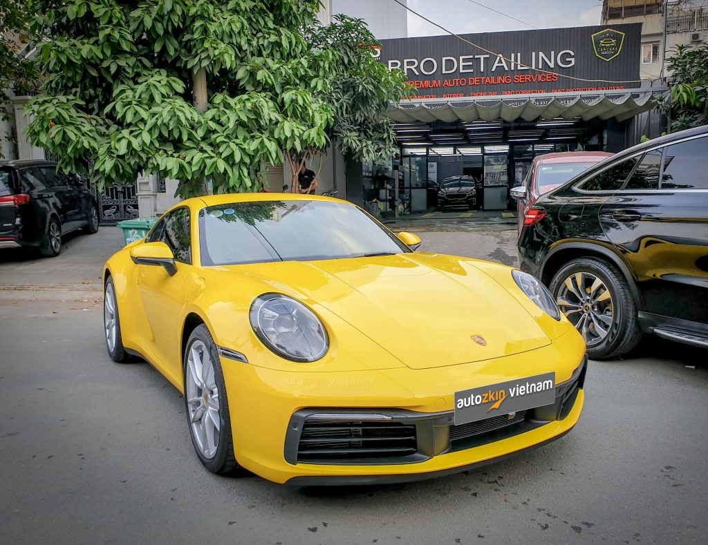 Dán PPF Porsche 911