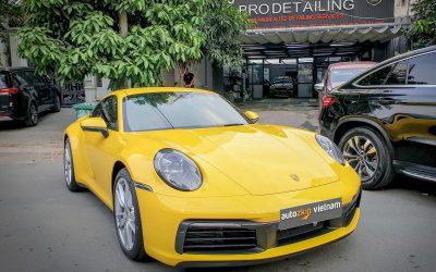 Dán PPF Porsche 911 với gói bảo vệ toàn xe – AutoZkin